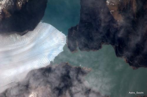 Glacier Lake in Southern Patagonia