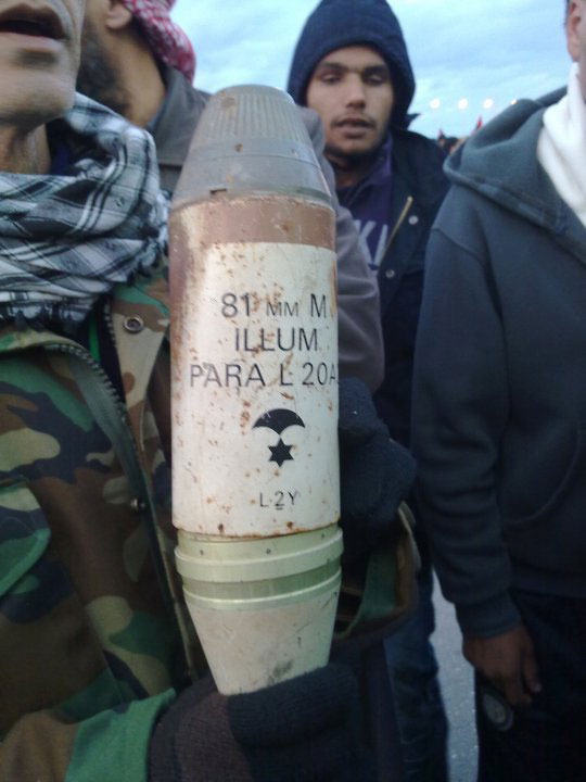 Mortar Shell in Libya