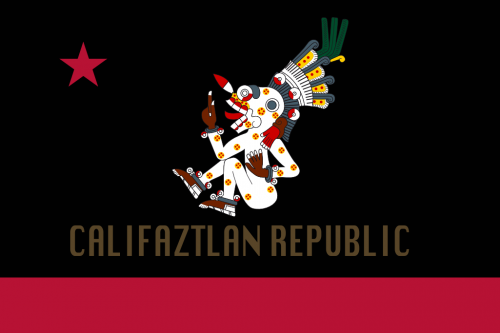 Flag of Califaztlan Mitlantecuhtli