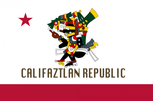 Flag of Califaztlan Tezcatlipoca