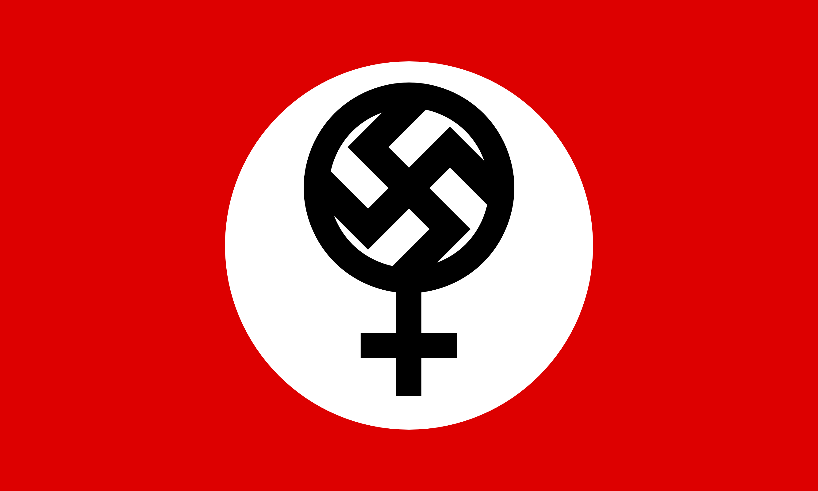 Flag of the Feminazi